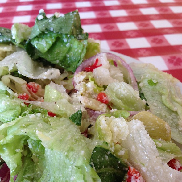 Pasta House Salad @ Pasta House