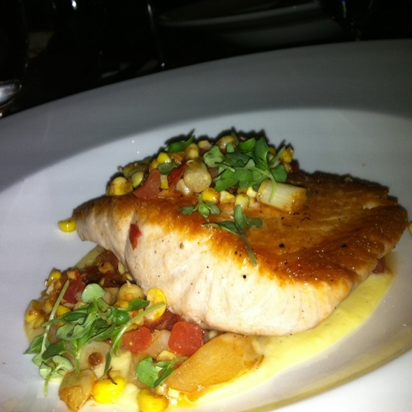 Pan Seared Atlantic Salmon - FiAMMA Italian Kitchen - MGM Grand, Las Vegas, NV