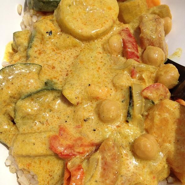 Vegan Coconut Curry @ Cazamance