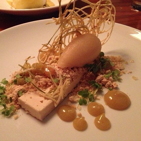 Peanut Butter Semifreddo @ Uchi Restaurant