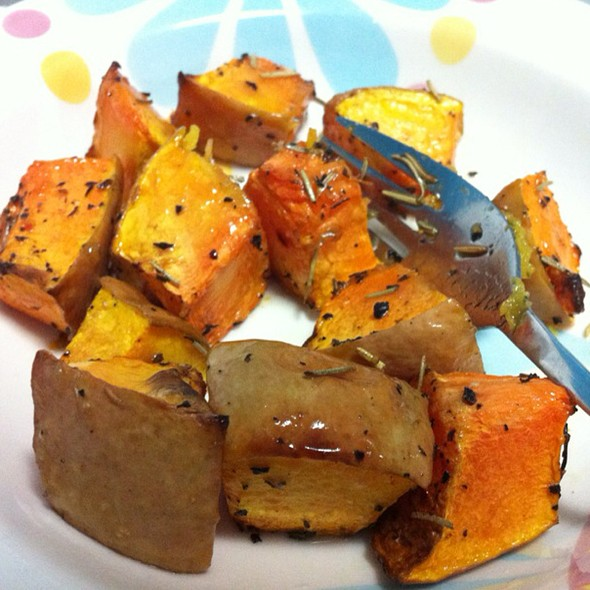 Roasted Pumpkin @ Rafaella Nunes' House