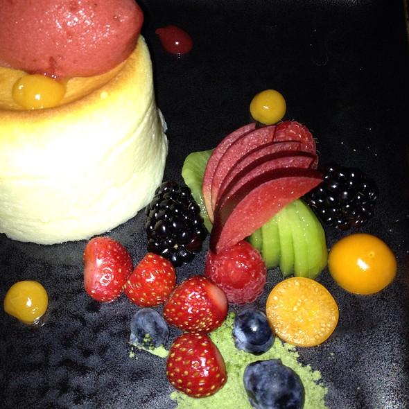 Chilled Cheesecake Suffle @ Morimoto