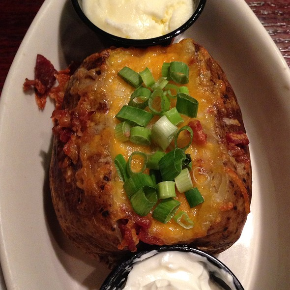"""Loaded"" Baked Potato"