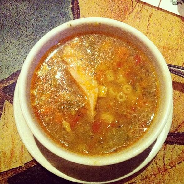 Mama Mandola's Sicilian Chicken Soup. , , , , @ Carrabba's Italian Grill