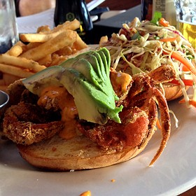 Soft Shell Crab Sandwich - Sapporo - Scottsdale Main Dining Room