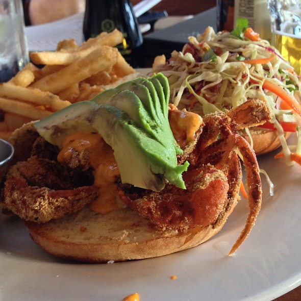 Soft Shell Crab Sandwich - Sapporo - Scottsdale Main Dining Room, Scottsdale, AZ