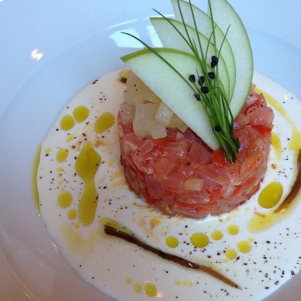 Look what Chef Stefano made for me :) @ Sicilia Ristorante @ IBN Battuta Gate Hotel