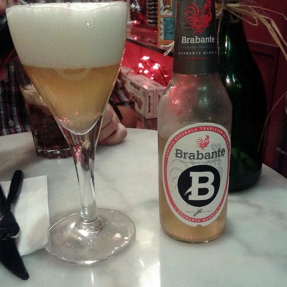 Brabante beer @  La Rue Crêperie