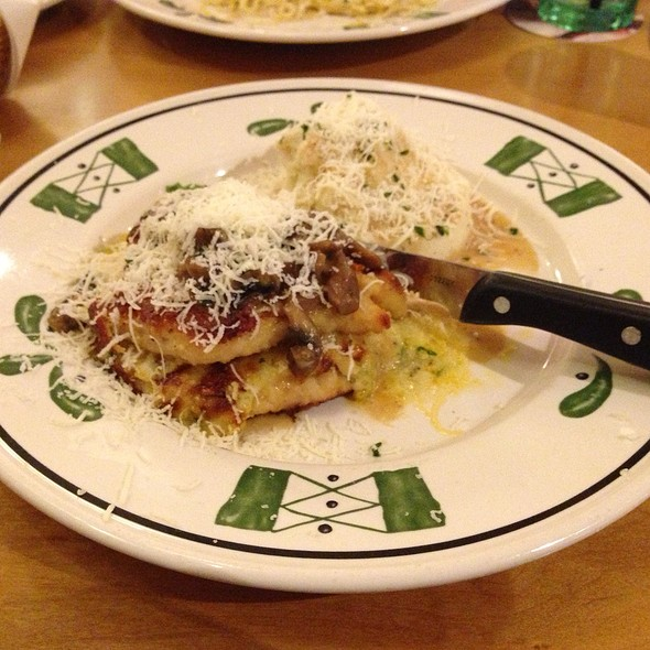 Foodspotting for Olive garden stuffed chicken marsala