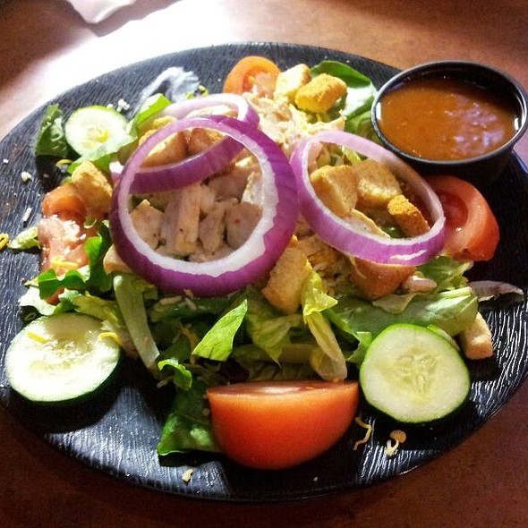 Grilled Chicken salad @ Buffalo Wild Wings Grill & Bar
