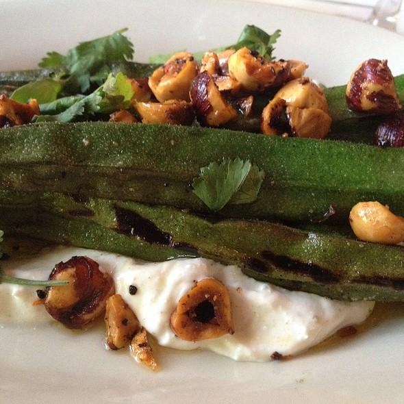 Grilled Okra @ FnB Restaurant