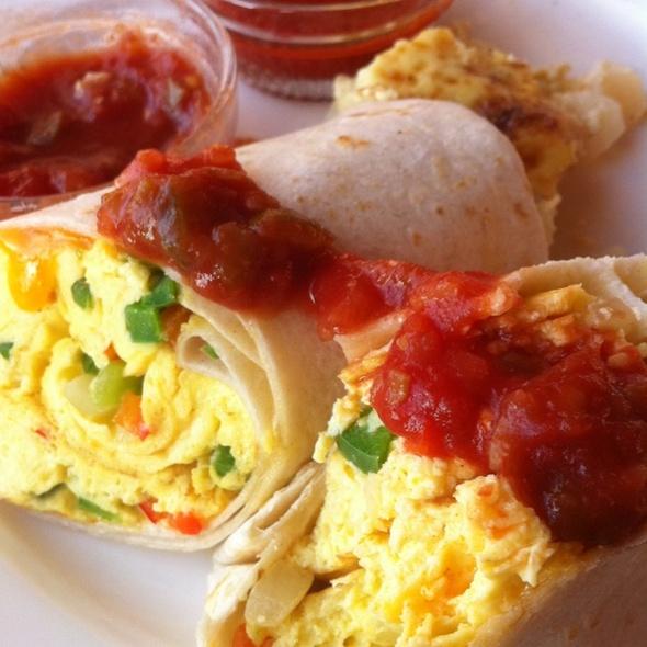 Breakfast Burrito - Nineteen & Traditions at TPC Sawgrass, Ponte Vedra Beach, FL