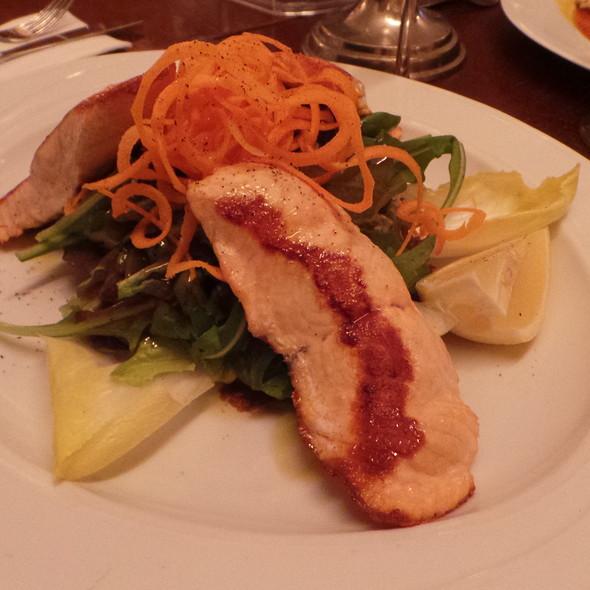 Salad With Salmon @ A Tavola