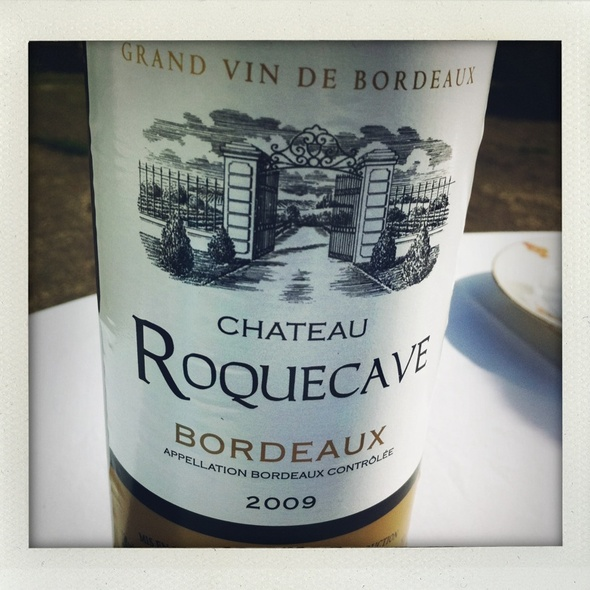 Chateau Roquecave @ Restaurante El Regajal de la Cruz