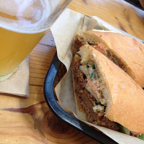 Bahn Mi @ Southern Pacific Brewing