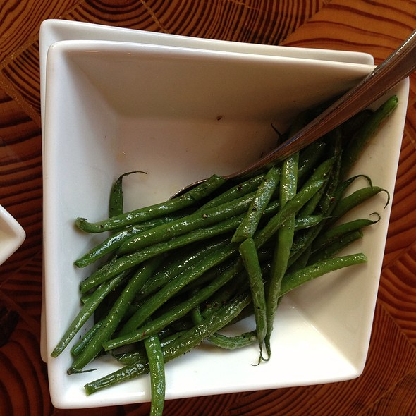 string beans - Solstice, Stowe, VT