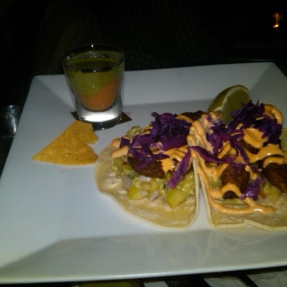Pez Dorado Taco( Crispy Sea Bass) @ Los Feliz