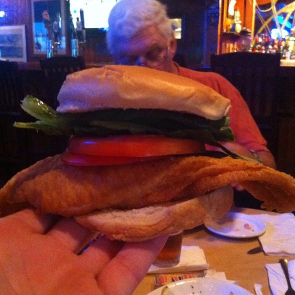 Fish Sandwich @ Sam & Omie's Restaurant