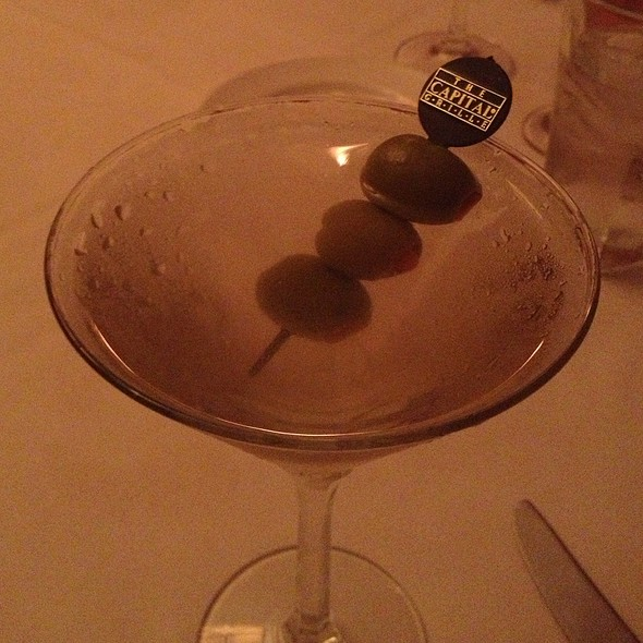 Martini - The Capital Grille - Washington DC, Washington, DC