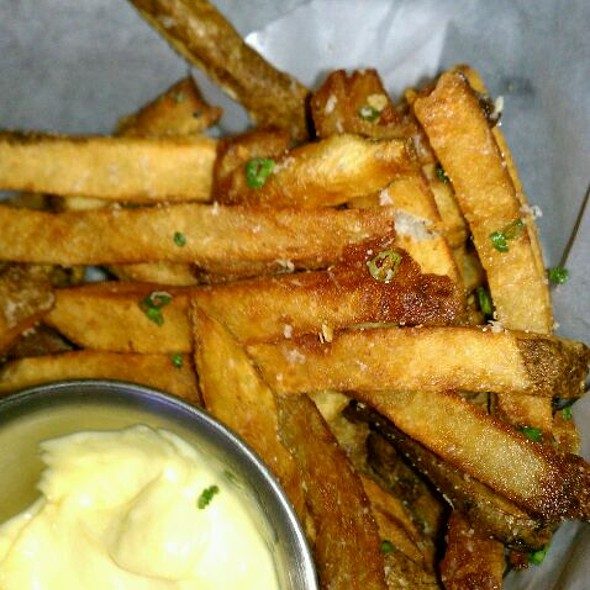 Truffle Fries With Truffle Aoli - Vines Grille and Wine Bar, Orlando, FL