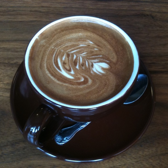 Latte @ Cafe Grumpy