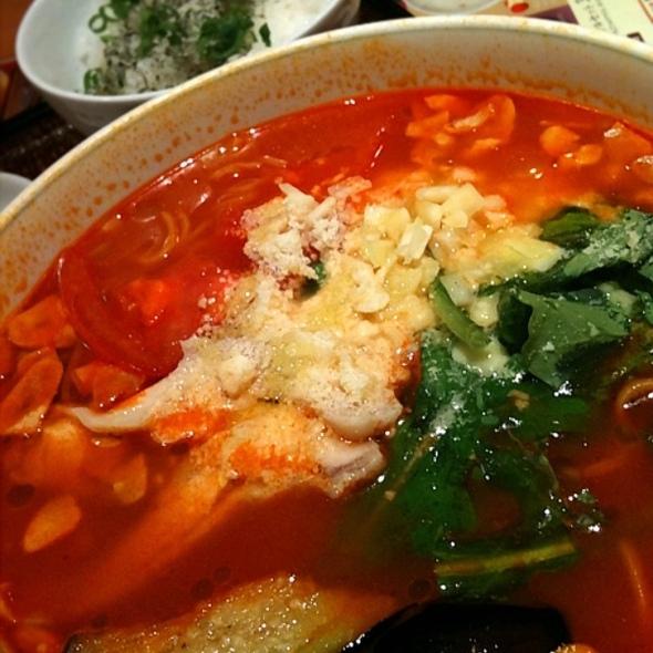 tomato soup ramen @ デニーズ神田小川町店
