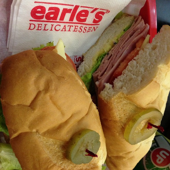 Meat Trio in Wheat Sandwich @ Earle'S Delicatessen