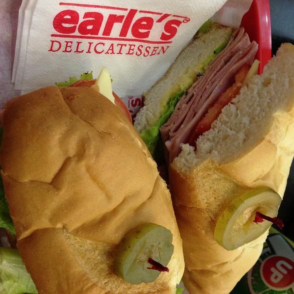 Meat Trio in Wheat Sandwich @ Earle'S Delicatessen