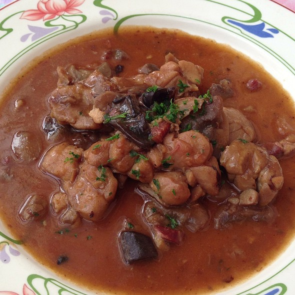 Ris De Veau Aux Champignons Sauvages @ Au Fin Gourmet