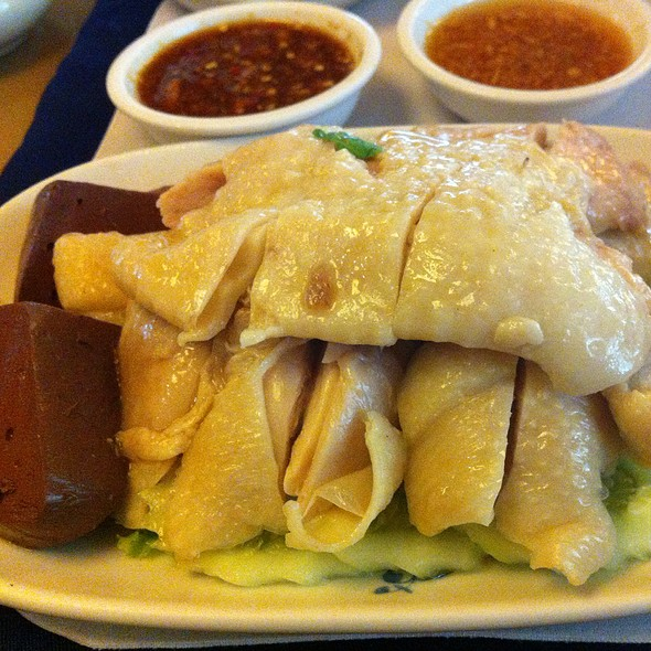 ข้าวมันไก่ | Chicken Rice @ Monthien Hotel