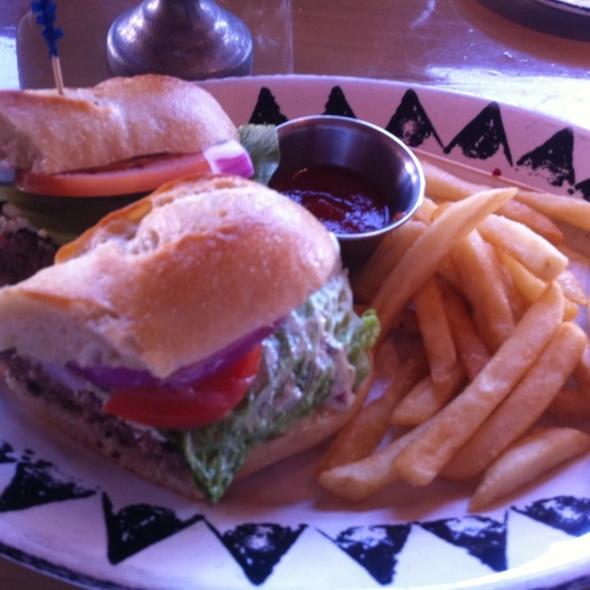 Tenderloin Burger - Painted Pony, St. George, UT