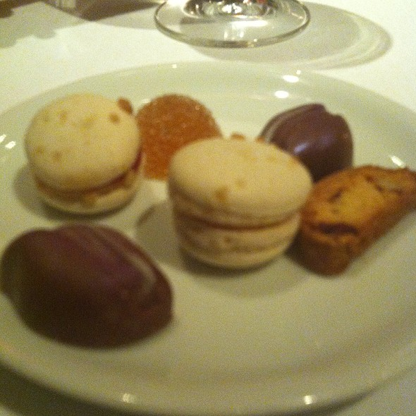 Complimentary desserts - Dovetail, New York, NY