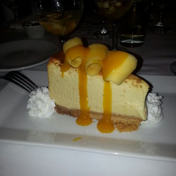 Mango Cheesecake - Caracara Mexican Grill, Farmingdale, NY