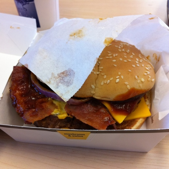 Chipotle BBQ Bacon Angus Burger @ McDonald's