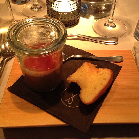Chicken Liver Parfait With Home Made Brioche @ Labstelle