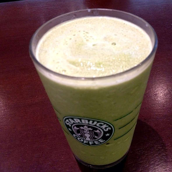 Green Tea Frappuccino @ Starbucks