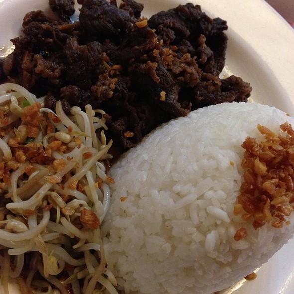 Beef Tapa @ Tsoko Nut Batirol - RCBC Plaza