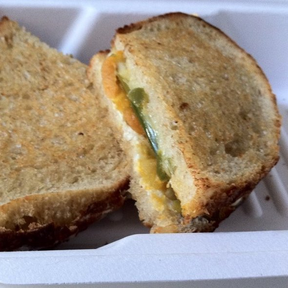 grilled cheese @ The American Grilled Cheese Kitchen