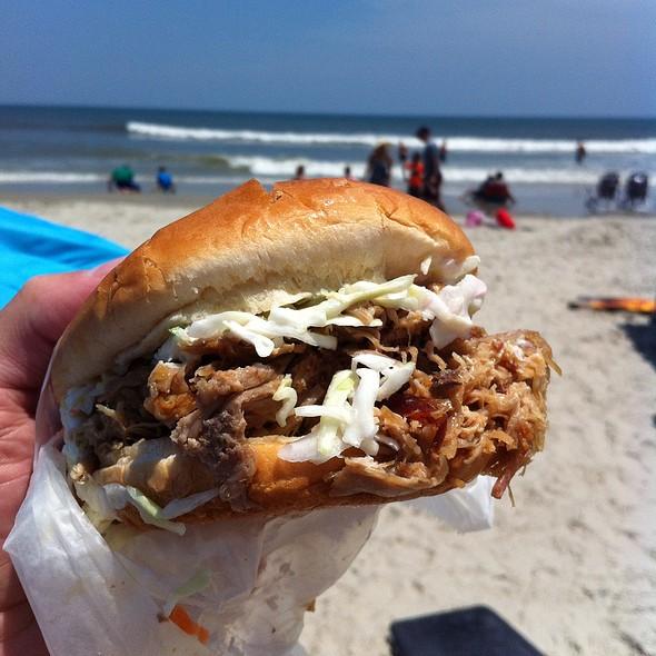 Pulled Pork Sandwich @ Corolla Village Barbecue