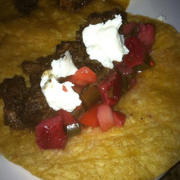 Pork Cheek Tacos