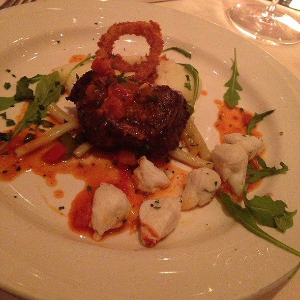 Sterling Filet With Snow Crab Claws - Carmelo's Ristorante Italiano - Houston, Houston, TX