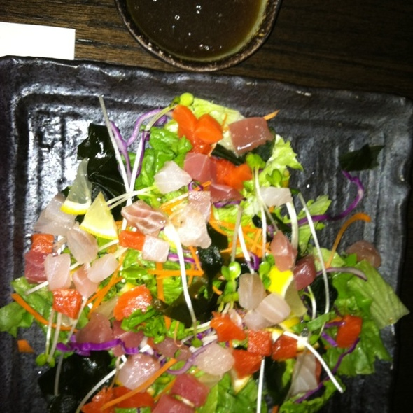Seafoods (Plural) Salad  @ Katsu-Hama