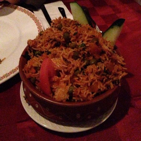 Vegetable Dum Biryani   The Indian Garden   Chicago, Chicago, IL
