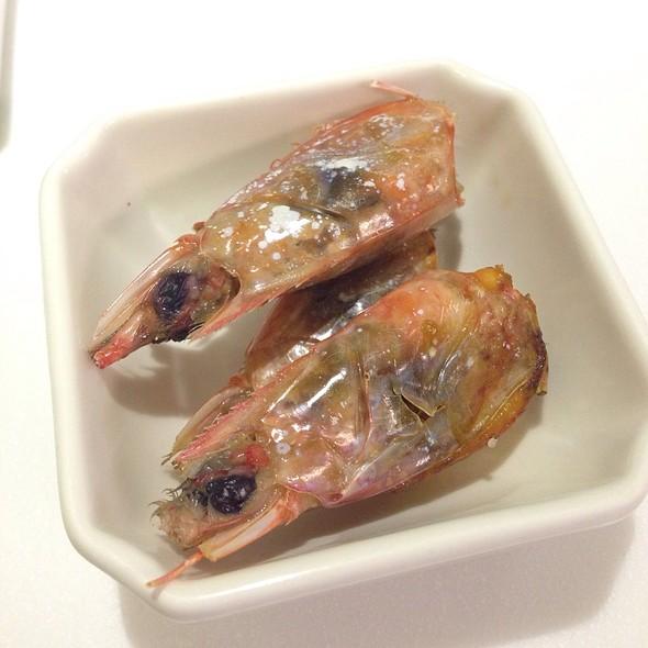 烤甜蝦頭 @ masa創作料理‧壽司割烹