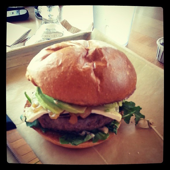 Prime time burger w/ avocado @ Hopdoddy Burger Bar
