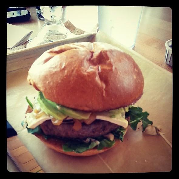 Prime time burger w/ avocado @ Hopdoddy Burger Bar