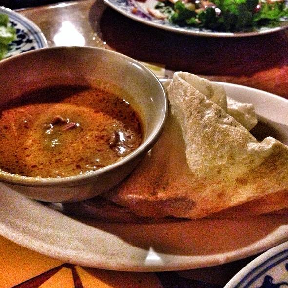 how to make roti canai curry sauce