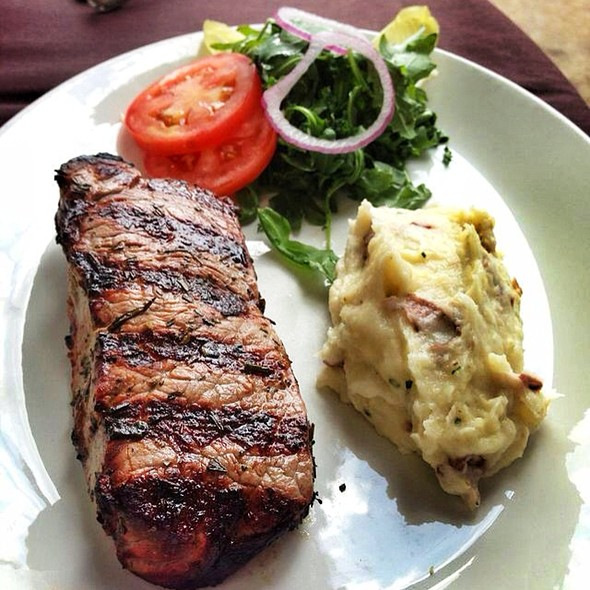 Steak with Mashed Potatoes - Arcodoro - Houston, Houston, TX