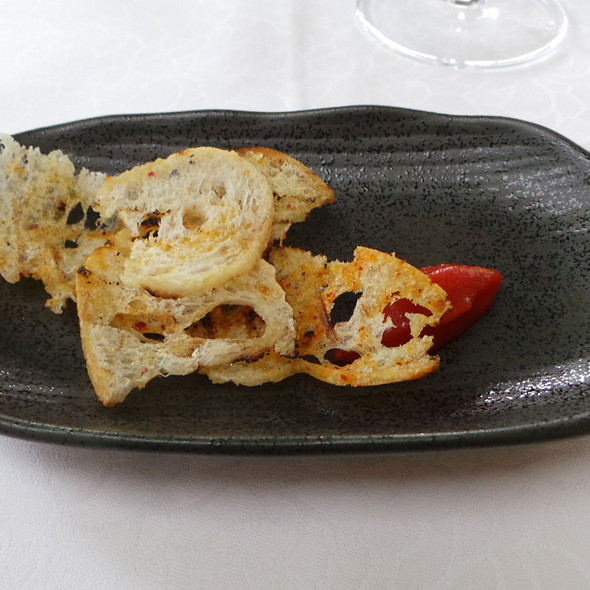 Tomato Mousse, Bread @ Hotel Residence