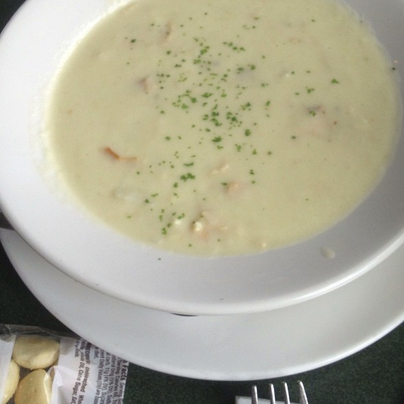 New England Clam Chowder @ The Lobster Pot